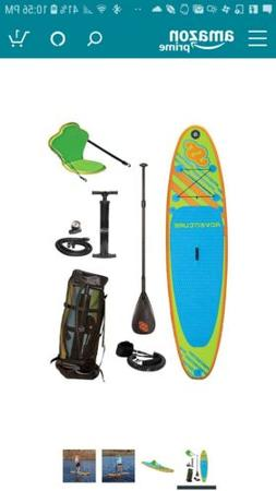 SPORTSTUFF 1030 ADVENTURE STAND UP PADDLEBOARD WITH ACCESSOR