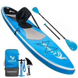 """Freein Stand Up Paddle Board Inflatable SUP 10'6"""" Long"""