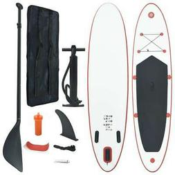 vidaXL Stand Up Paddle Board Set SUP Surfboard Inflatable Su