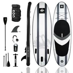 ROC Stand Up Paddleboard  Inflatable W/Premium Accessories a