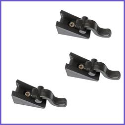 Stand Up Paddleboard SUP Quick Lock Fin Clips 3 Pack FREE SH