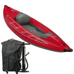 star inflatable viper self bailing whitewater kayak