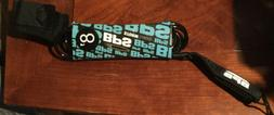 BPS Storm Surfboard Premium Straight Leash Surfing or Paddle