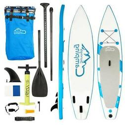 "SUP Inflatable 11'x32""x6"" Stand Up Paddle Board w/Pulp Pump"