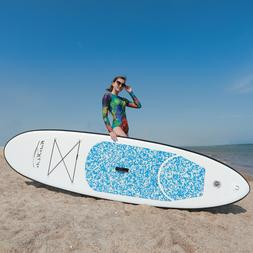 "SUP Inflatable Stand Up Paddle Board 11'x32""x6"" w/Ad Paddle,"