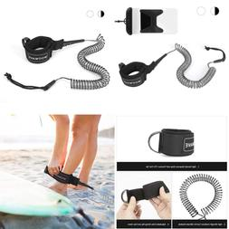 SUP Leash 11 Ft Coiled Stand Up Paddle Board Surfboard Stay