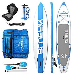 Bluefin SUP Stand Up Inflatable Paddle Board with Kayak Conv