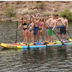 AIRHEAD Super SUP Stand Up 8 Person Paddleboard 1860 Monster