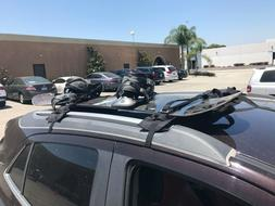 APlus Surf & Paddle Board Roof Rack Pads  Black Square 38 in