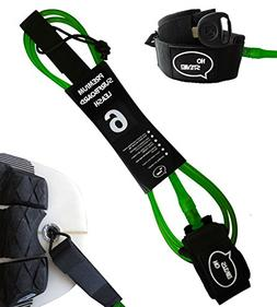 Premium Surf Leash  Maximum Strength, Lightweight, Kink-free