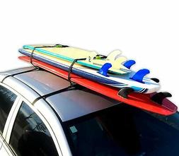 Brand New Block Surf Surfboard Roof Rack, Universal Fit for