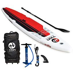 NIXY SUP Touring Inflatable Stand Up Paddle Board Package. U