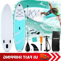 TRC Inflatable Paddle Board SUP Stand Up Paddleboard & Acces