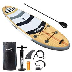 UBOWAY Two Layer Inflatable Stand Up Paddle Board 11' Long