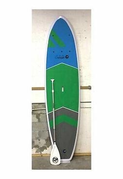 """Ultra Durable Paddle Board Green Blue 10'6"""" North 2"""