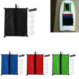Universal Mesh Deck Bag w/ Suction Cups for Paddleboard Surf
