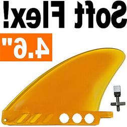 "saruSURF 4.6"" US box center fin Safety Flex Soft replacement"