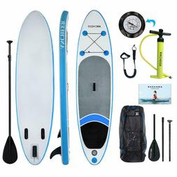 US Seller ~Thrive 10''  Inflatable Stand Up Paddle Board wit