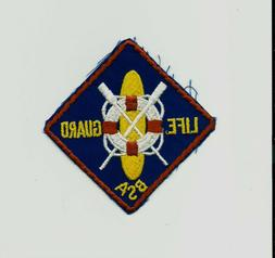UU SCOUT BSA LIFE GUARD PATCH RING BUOY PADDLE BOARD CROSSED