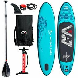 Aqua Marina Vapor 9.8 Foot SUP Stand Up Paddle Board Kit wit
