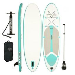Vilano Journey 10 ft. Infatable SUP Stand-up Paddle Board Ki