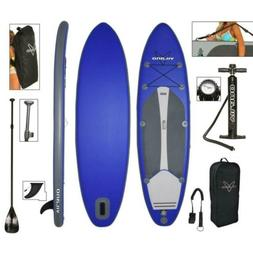 "Vilano Navigator 10' 6"" Inflatable SUP Stand Up Paddle Board"