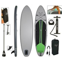 Vilano Voyager Inflatable SUP Stand Up Paddle Board, include
