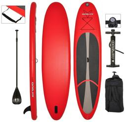 Vilano Voyager 11' Inflatable SUP Stand Up Paddle Board Pack