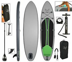 voyager inflatable sup stand paddle