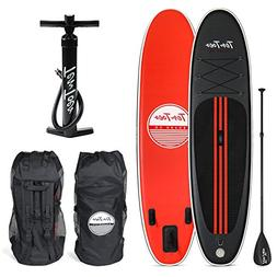 Ten Toes Weekender Inflatable Stand Up Paddle Board Bundle,
