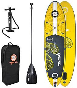 """Z-Ray X1 9'9"""" All Around SUP Stand Up Paddle Board Package w"""