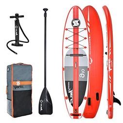 "Z-Ray A1 9'10"" Touring SUP Inflatable Stand Up Paddle Board"