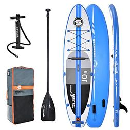 Z-Ray A2 Inflatable Touring Stand Up Paddleboard with Access