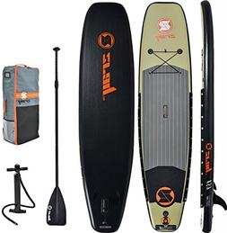 Z-Ray 11' Fishing SUP Stand Up Paddle Board Package w/Pump,